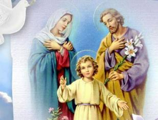 Esta é a ORAÇÃO do Papa Francisco à Sagrada Família para o último dia do ano. Rezemos...