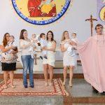 Domingo do Senhor teve Batizado na Paróquia – Dezembro 2017
