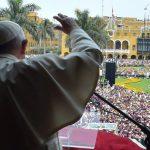 Angelus com o Papa no Peru: não se faz PhotoShop com o coração