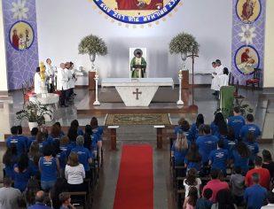 Missa de Abertura da CATEQUESE - 2018. Com Bênçãos para os catequistas e catequizandos.