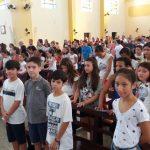 1° Retiro da Catequese 2018 –  Etapa Eucaristia