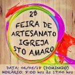 2ª FEIRA DE ARTESANATO IGREJA – COMUNIDADE SANTO AMARO