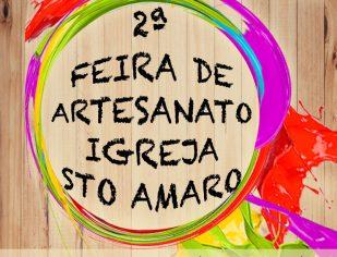 2ª FEIRA DE ARTESANATO IGREJA - COMUNIDADE SANTO AMARO