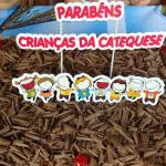 Comunidade Nossa Senhora Aparecida: Festinha com as crianças da catequese no mês da padroeira.