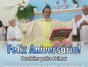 Missa em ação de Graças pelo aniversário do padre Ocimar