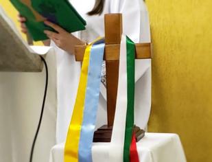 Dia Mundial das Missões: Missa na comunidade Santa Madelana de Canossa