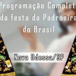Programação Completa da festa de Nossa Senhora Conceição Aparecida