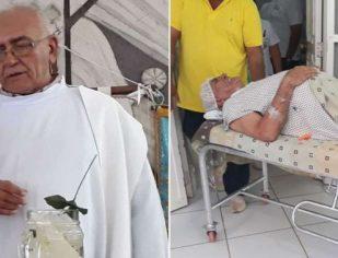 INACREDITÁVEL: Padre é esfaqueado na barriga em assalto. Rezemos...