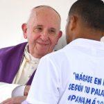 Papa a menores infratores: olhar de Deus não vê rótulos, mas filhos
