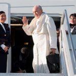 Papa Francisco chega ao Panamá para participar da JMJ 2019