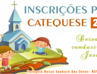 Paróquia abre inscrições para Catequese 2019