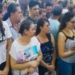 Padre Ocimar abençoa fiéis com a Bênção de São Brás(vídeo)