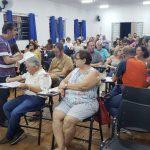 PLANEJAMENTO: Padre Ocimar reúne pastorais e movimentos