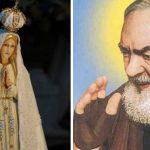 Padre Pio era devoto de Nossa Senhora de Fátima e recebeu dela a graça de uma cura