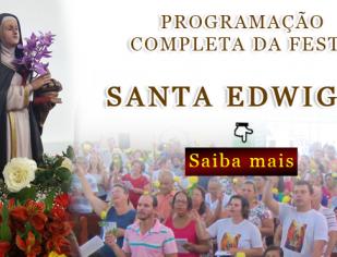 Festa em Honra a Santa Edwiges - Programação