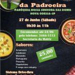 Pizza da Padroeira: Igreja começa nova campanha