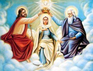 Homenagem a Nossa Senhora - Catequese Santa Terezinha