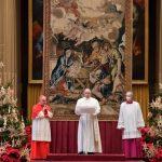 Mensagem de Natal do Papa: Jesus nasce para todos, não só para alguns