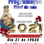 Paróquia divulga horários Especiais para o FINAL DE ANO